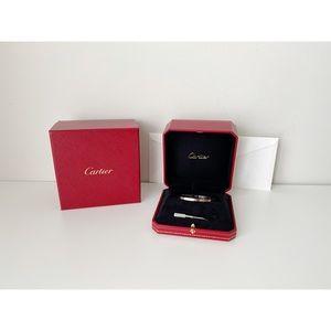 Cartier Love Bracelet White Gold Small 17